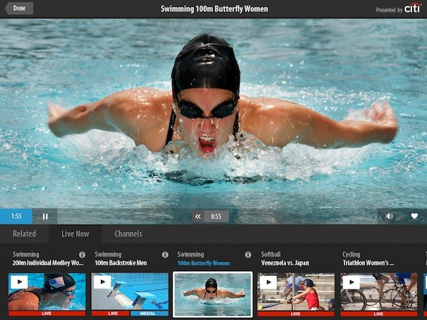 NBC Launches Free Olympics App