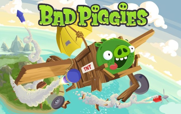 Angry Birds sequel Bad Piggies starts at the top of the charts