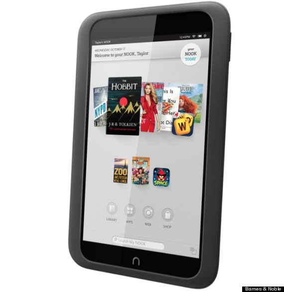 Barnes & Noble unveils new Nook HD tablet