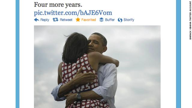 Obama as a social media rockstar