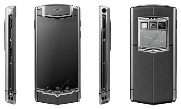 Vertu Ti Luxury $10K Android Phone