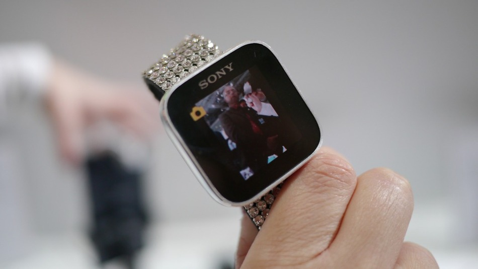 Sony Smart Watch Device With Android At Mobile Asia