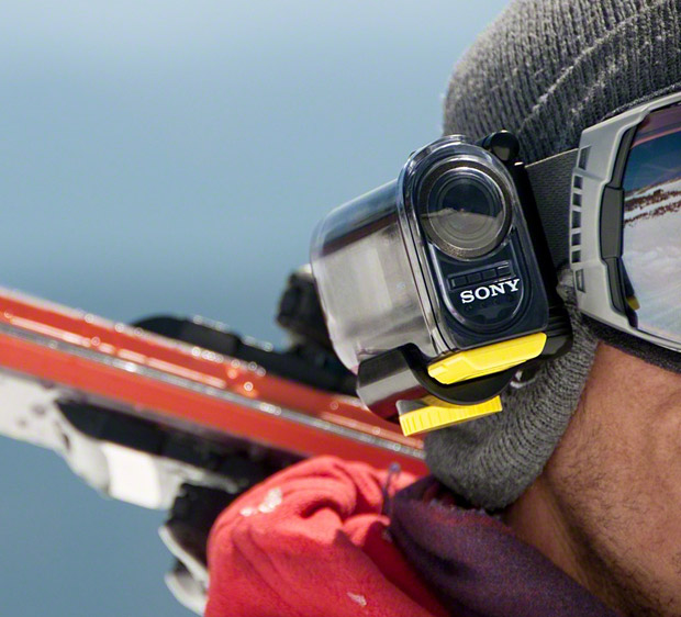 Sony Action Cam 4K Handheld Ultra Wide Technology